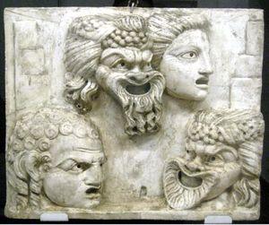 التراجيديا والكوميديا في المسرح اليوناني