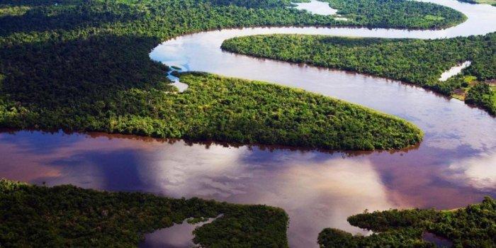المياه العذبة في أنهار أمريكا الجنوبية