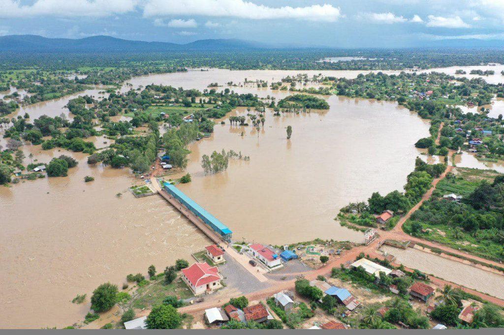 فيضان نهر ميكونغ