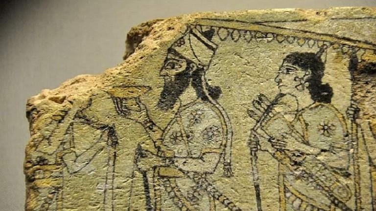 اكتشافات ولقى الحضارة السومرية