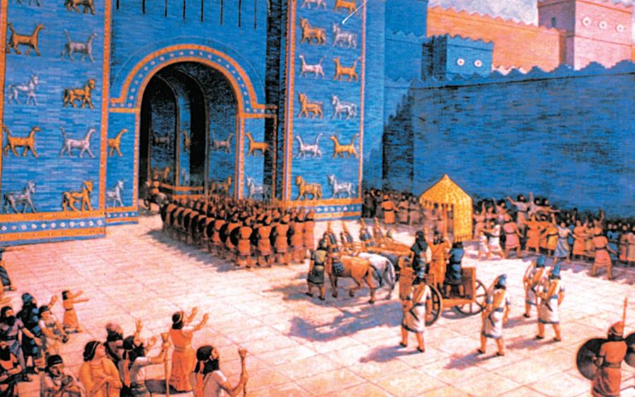 بلاد ما بين النهرين و الحضارة البابلية