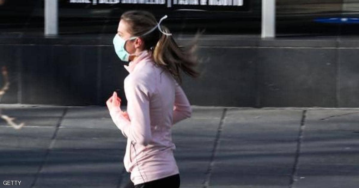 هل يمكن ارتداء الكمامة أثناء ممارسة الرياضة
