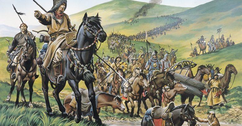نشوء الامبراطورية المغولية من القبائل